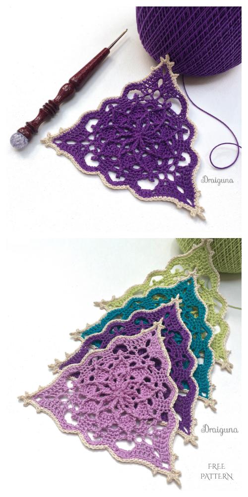 Wispweave Triangle Free Crochet Pattern