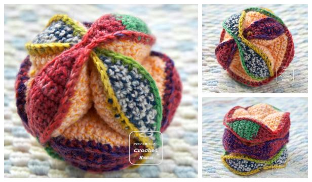 Amish Puzzle Ball Free Crochet Patterns