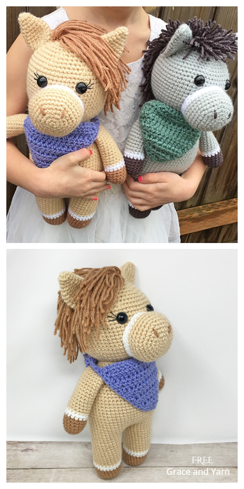 Crochet Horse Amigurumi Free Patterns