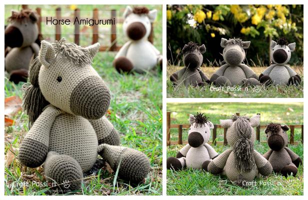 Crochet Horse Amigurumi Free Patterns
