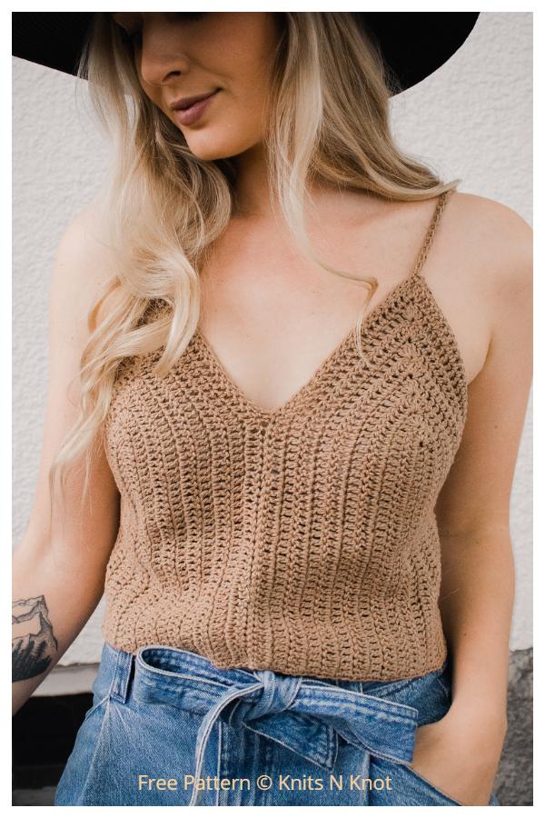 Chasing Summer Top Free Crochet Patterns
