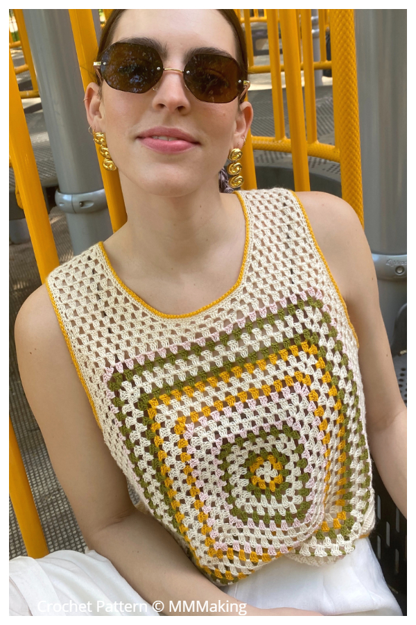 The May Tank Top Crochet Patterns