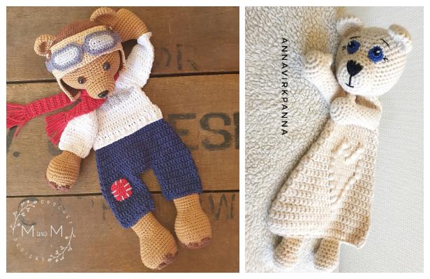 Ragdoll Bear Free Crochet Patterns