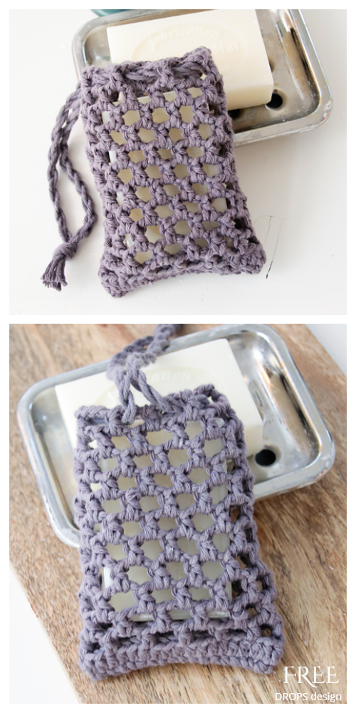 Net Soap Saver Free Crochet Patterns