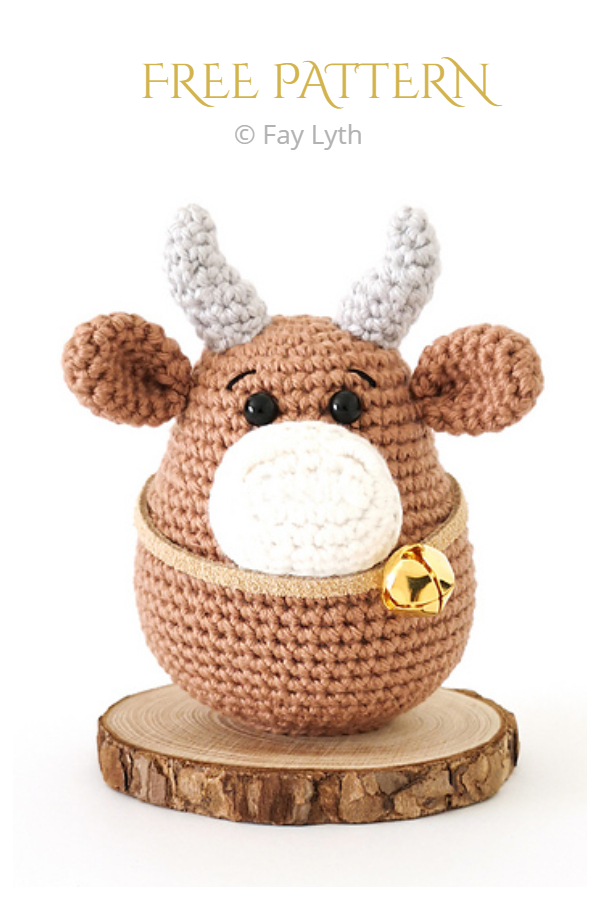Amigurumi OX Free Crochet Patterns