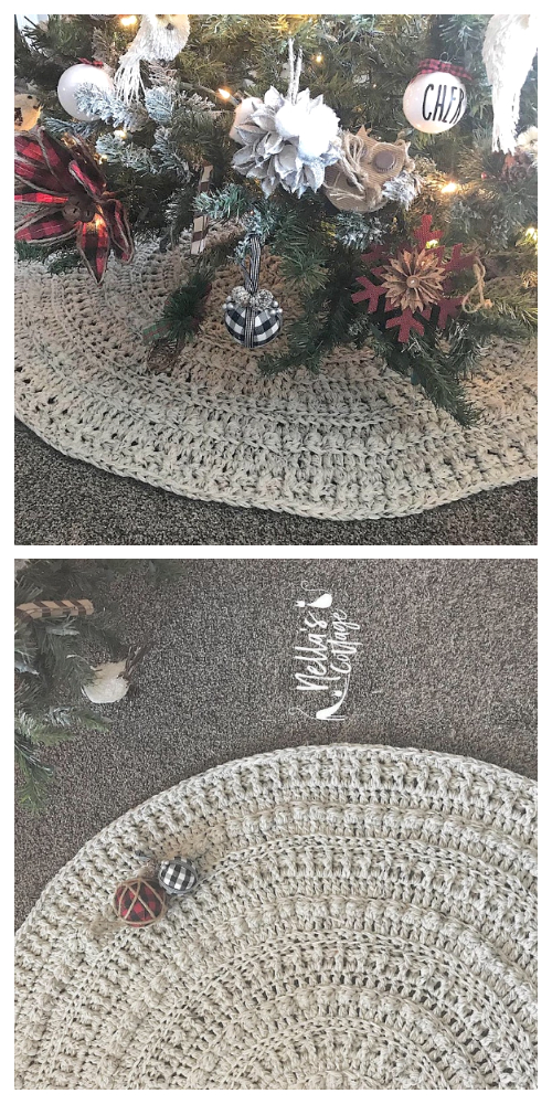 Amara Tree Skirt Crochet Patterns
