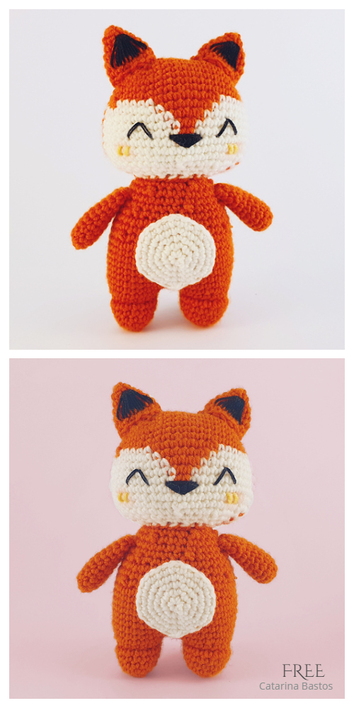 Crochet Little Fox Amigurumi Free Patterns