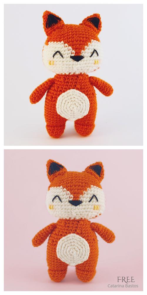 Crochet Little FoxAmigurumi Free Patterns