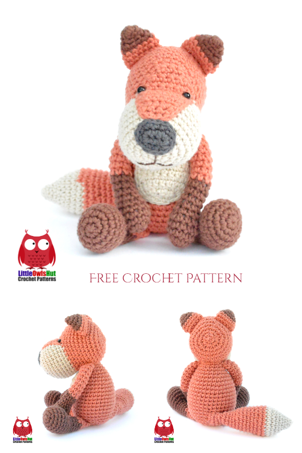 Crochet Buffy the Fox Fox Amigurumi Free Patterns