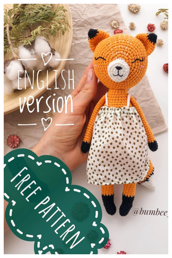 Crochet Fox Amigurumi Free Patterns