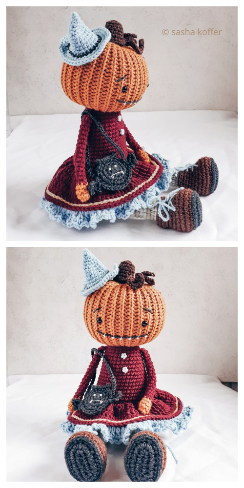 Crochet Pumpkin Doll Amigurumi Patterns