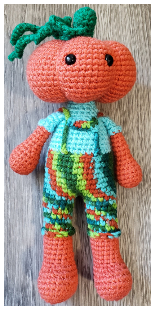 Crochet Pumpernickel Pumpkin Man Amigurumi Patterns