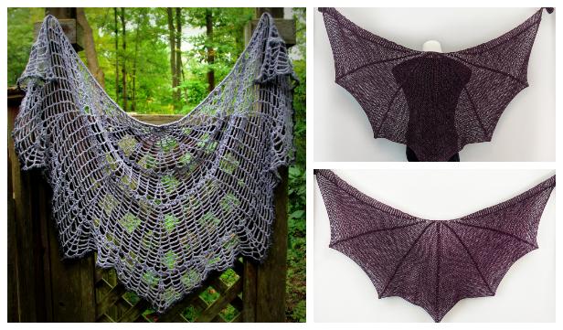 Halloween Web Shawl Free Crochet Patterns