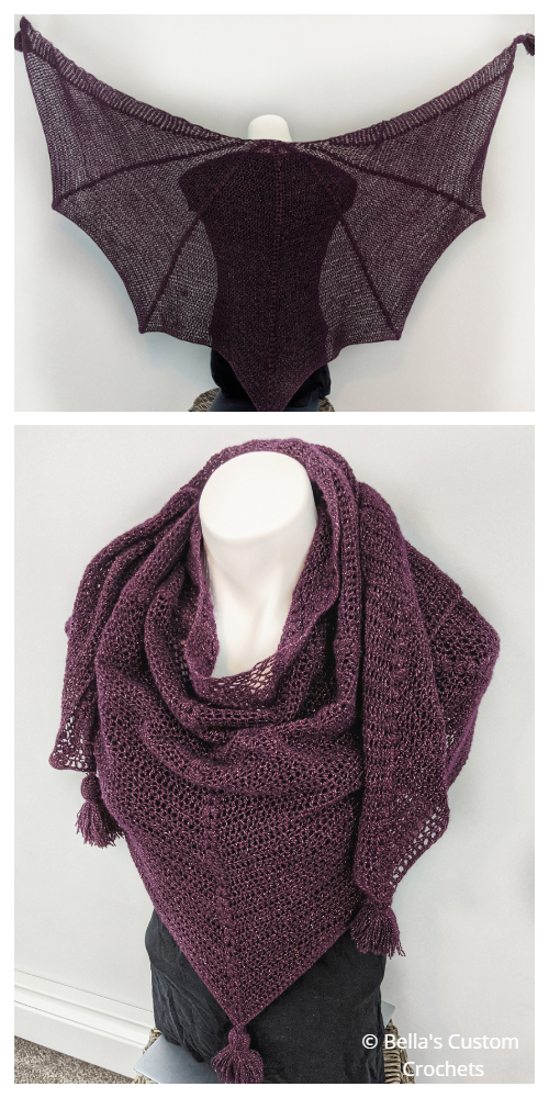 Forgotten Lore Shawl Crochet Patterns