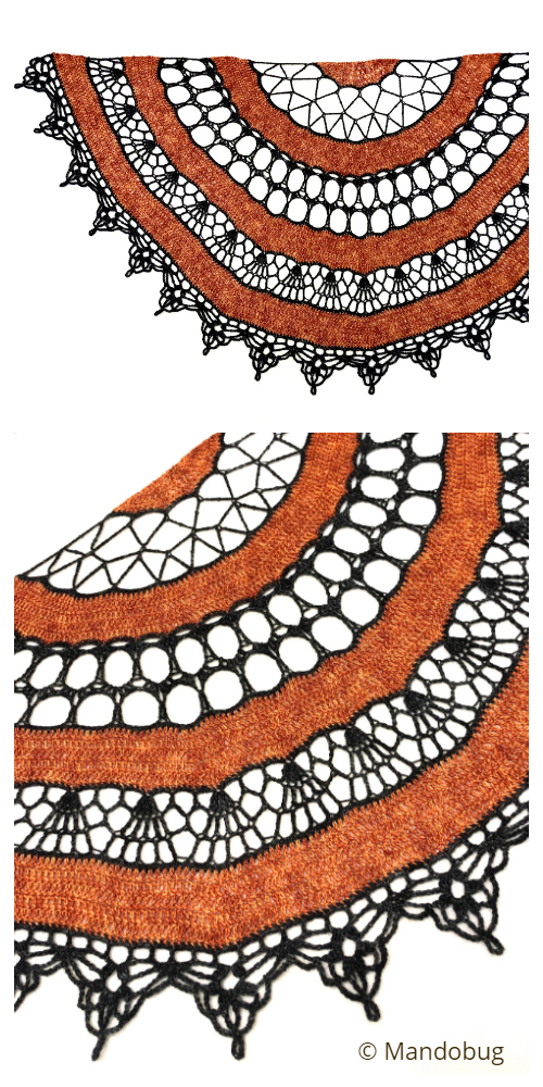 HalloWeb Shawl Crochet Patterns