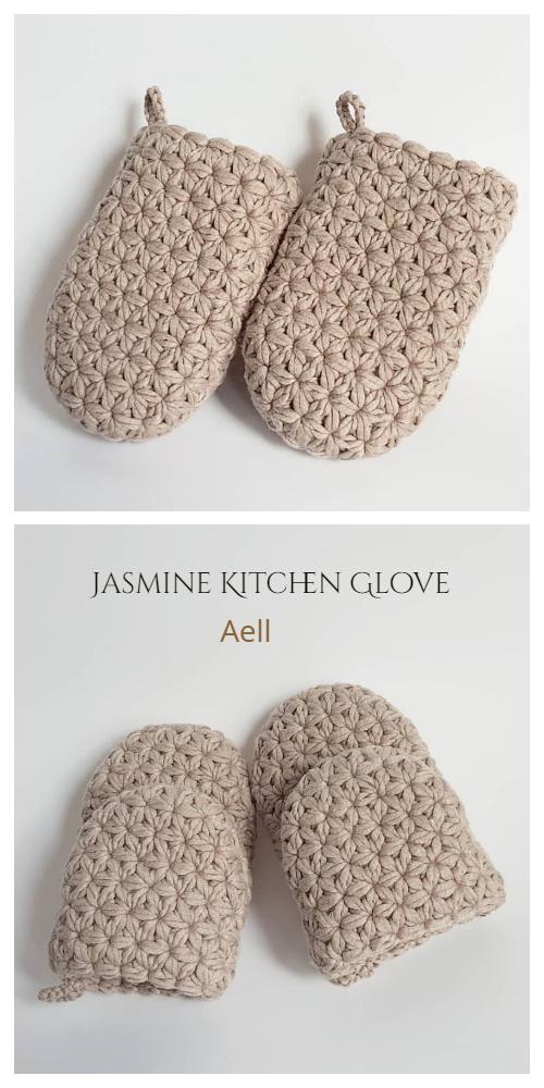 Jasmine Kitchen Glove Crochet Patterns