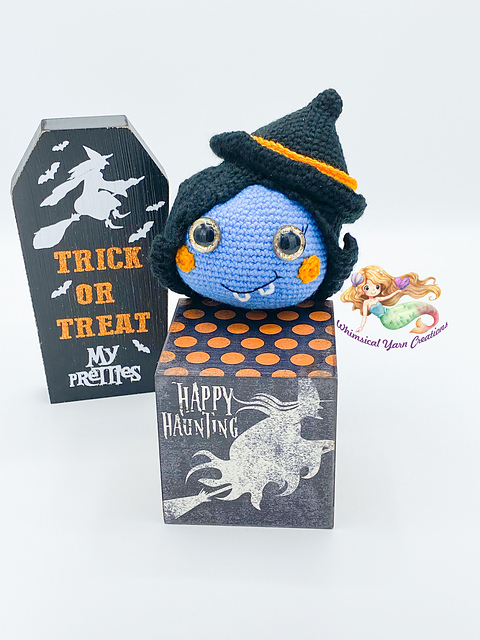 Rosalind the Witch Pumpkin Crochet Pattern