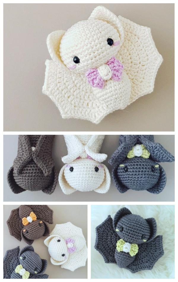 Halloween Crochet Bats Amigurumi Patterns