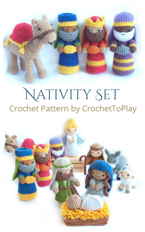 Amigurumi Nativity Set Crochet Patterns