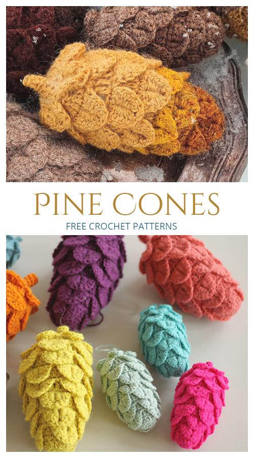 Pine Cone Free Crochet Patterns