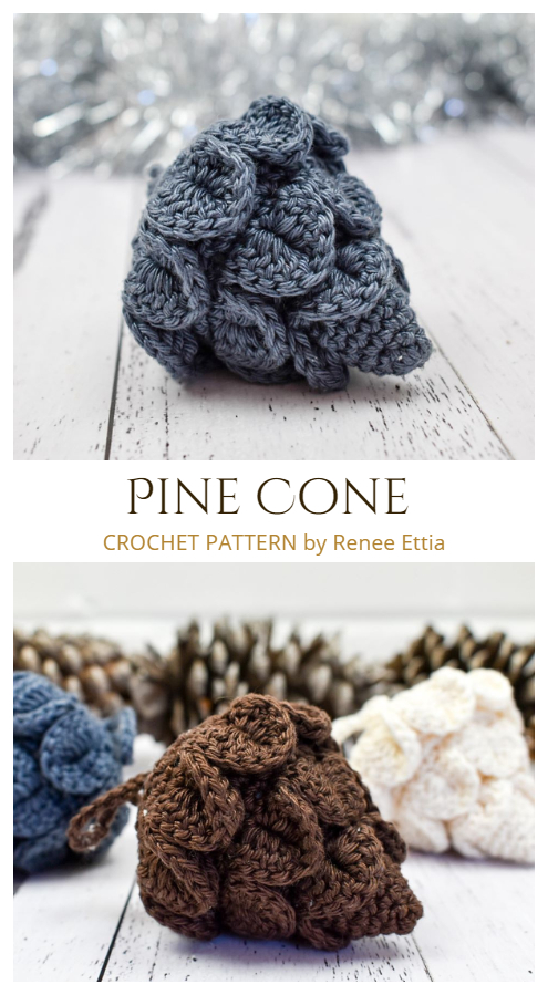 Pine Cone Crochet Patterns