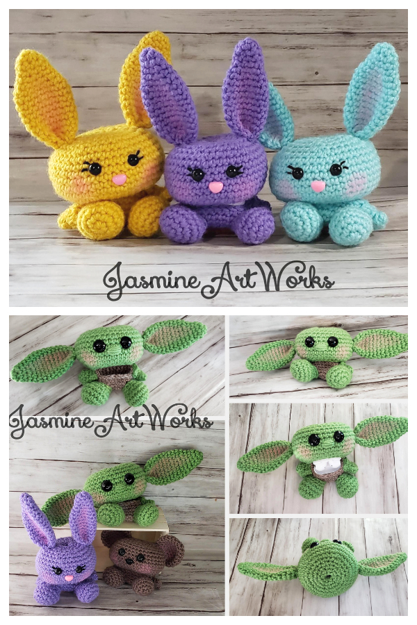Sugar Plum Bunny Airpod Case Crochet Patterns