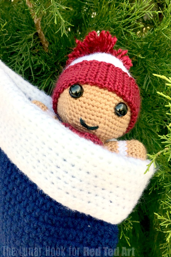 Crochet Gingerbread Man Amigurumi Free Patterns