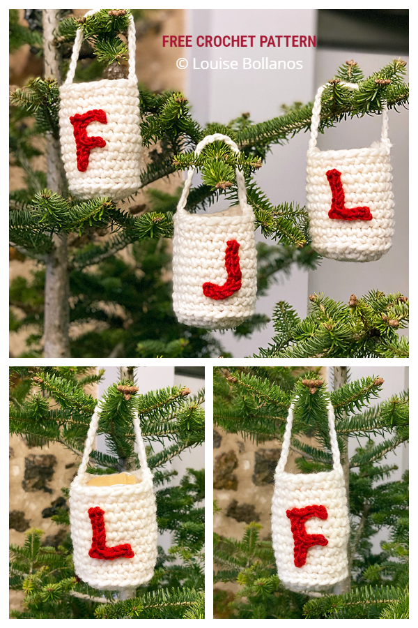Christmas Goodie Bags Free Crochet Patterns