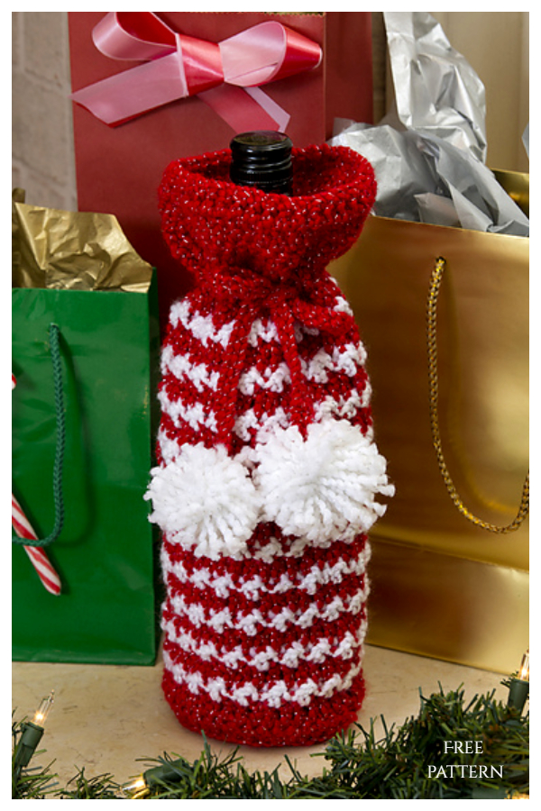 Holiday Spirits Cozy Free Crochet Patterns