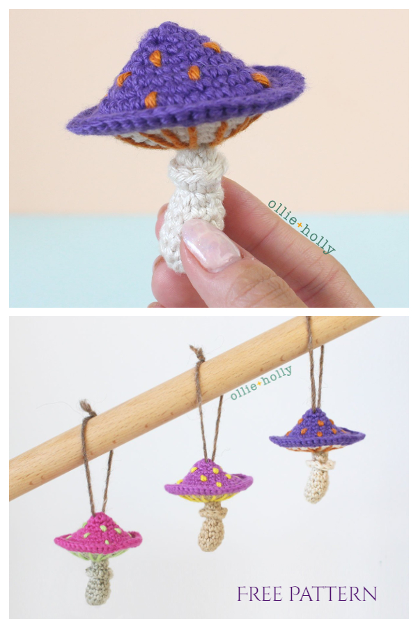 Poisonous Mushroom Free Crochet Patterns
