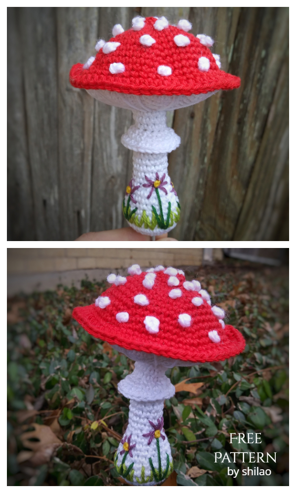 Toadstools Mushroom Free Crochet Patterns