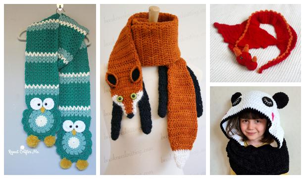 Rainbow Curly Shirley Scarf Free Crochet Patterns