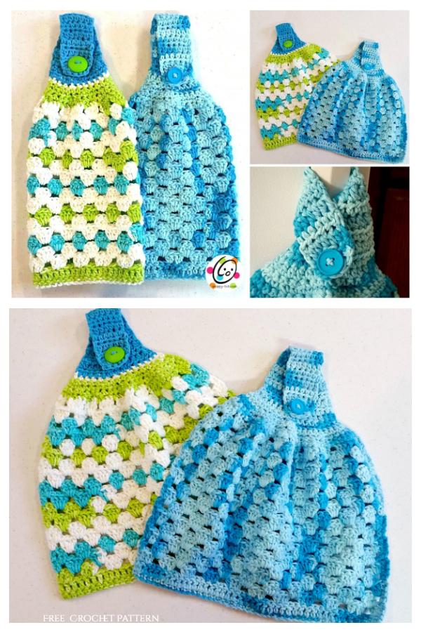 Hanging Towel Free Crochet Patterns