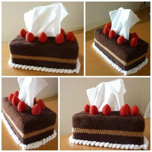 Chocolate Tissue Box Cover Free Crochet Patterns
