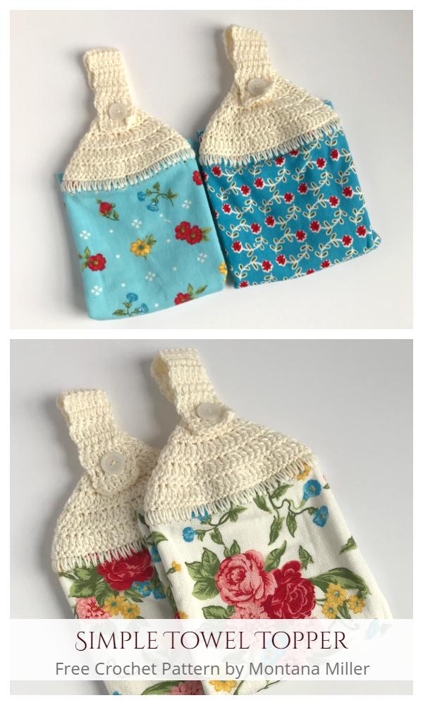 Simple Towel Topper Free Crochet Patterns