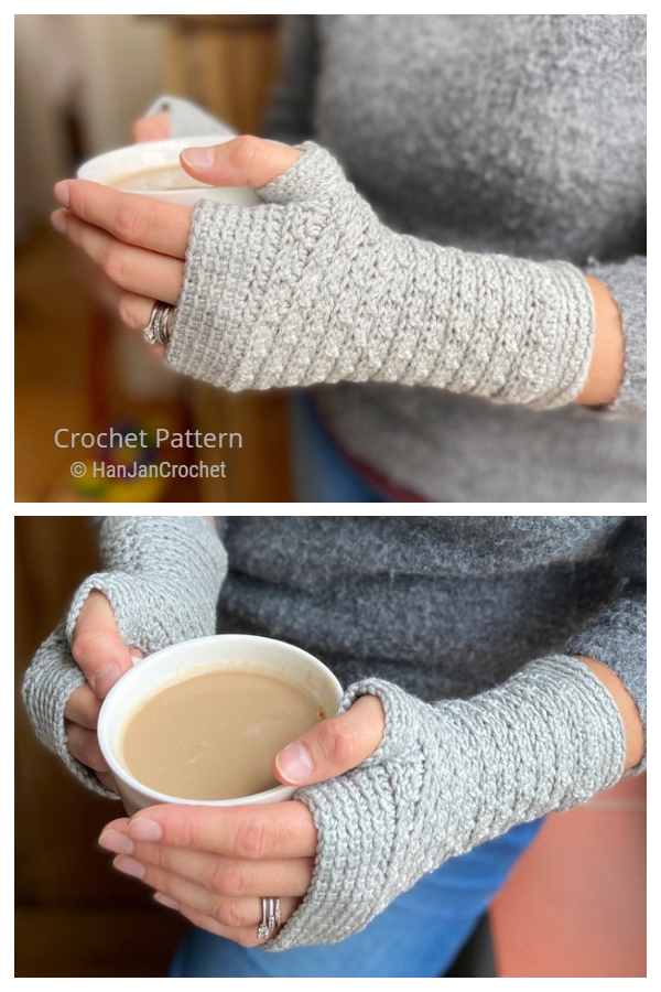 Mystical Mitts Fingerless Gloves Crochet Patterns