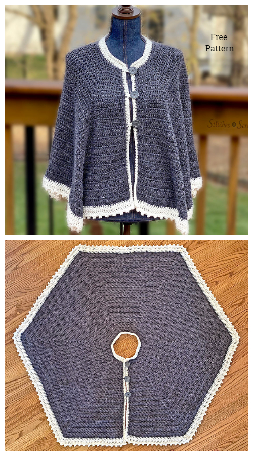 Icing on the Cape Free Crochet Pattern