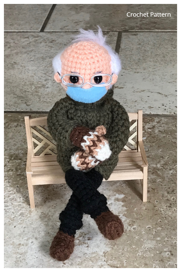 Bernie Sanders Inspired Doll Crochet Patterns