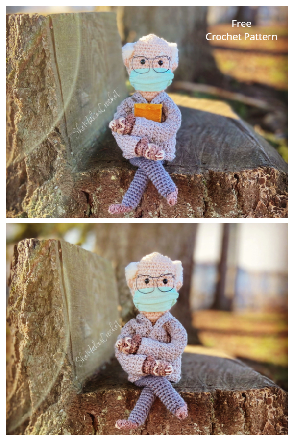 Bernie Sanders Inspired Doll Free Crochet Patterns