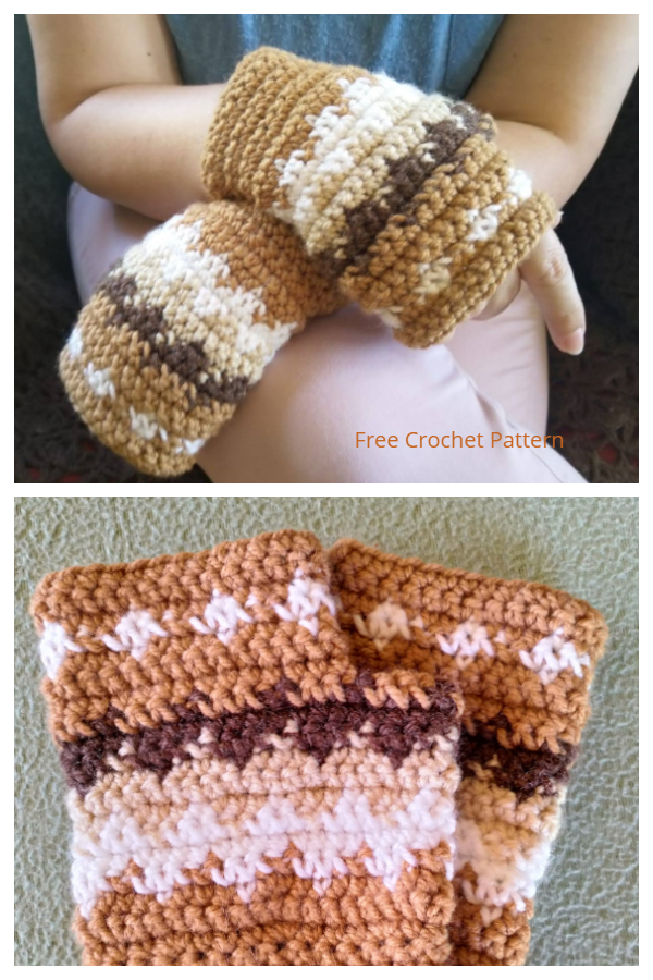 Bernie Sanders Inspired Fingerless Mittens Free Crochet Patterns