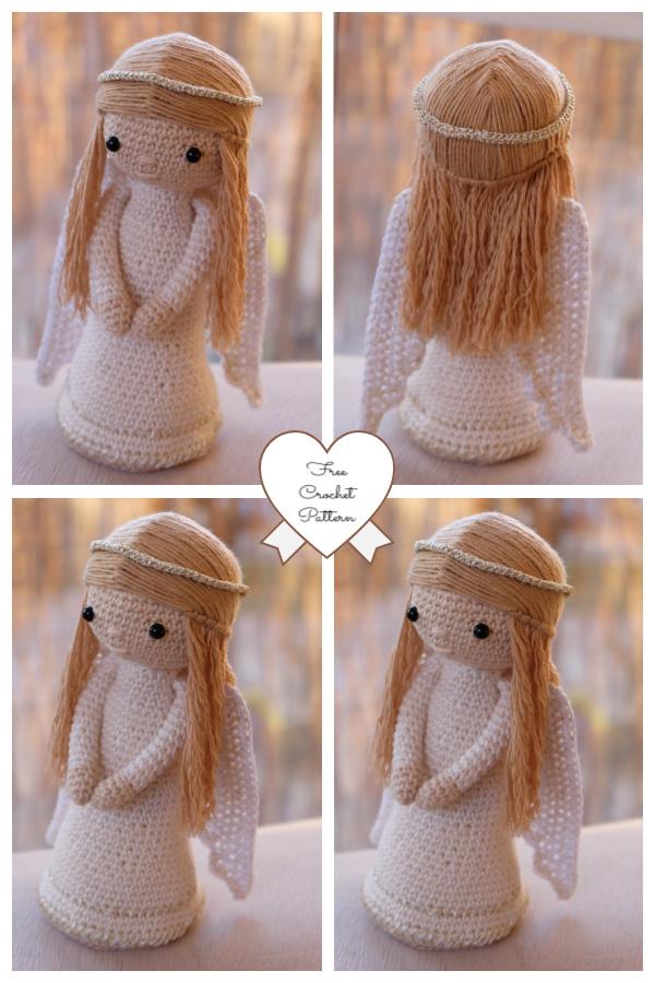 Crochet Christmas Angel Amigurumi Free Patterns