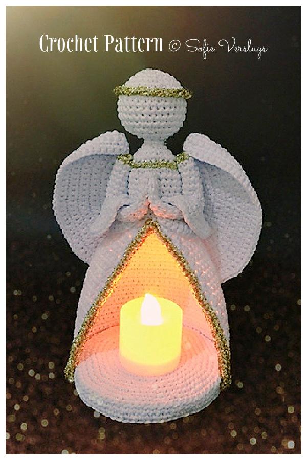 Crochet Angel Doll Light Amigurumi Patterns