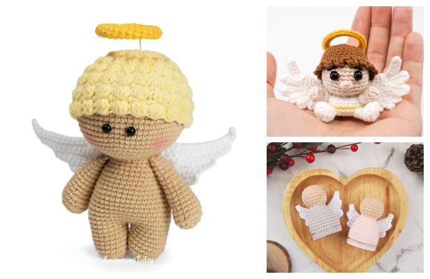 Crochet Angel Doll Amigurumi Free Patterns
