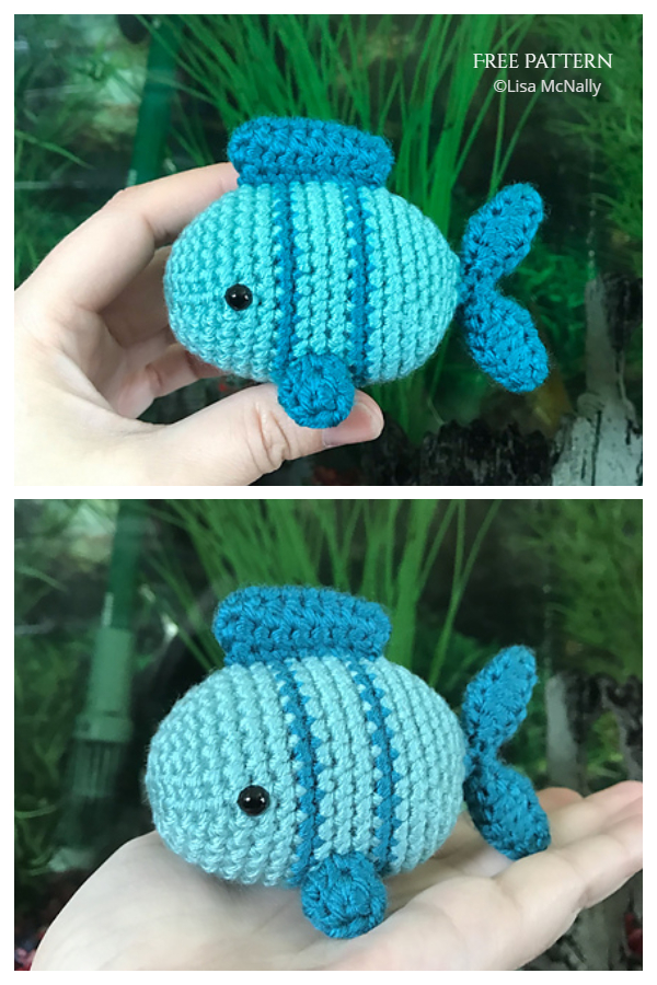 Crochet Fish Amigurumi Free Patterns