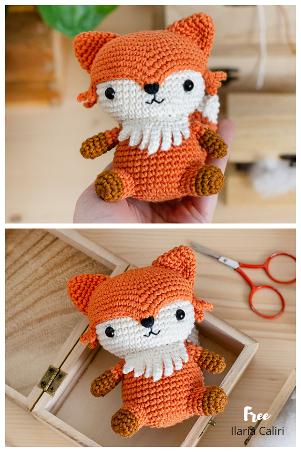 Crochet Francis Fox Amigurumi Free Patterns
