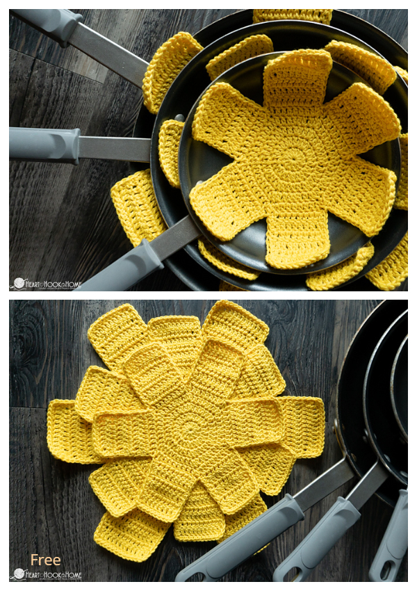 Easy Pan Protectors Free Crochet Patterns
