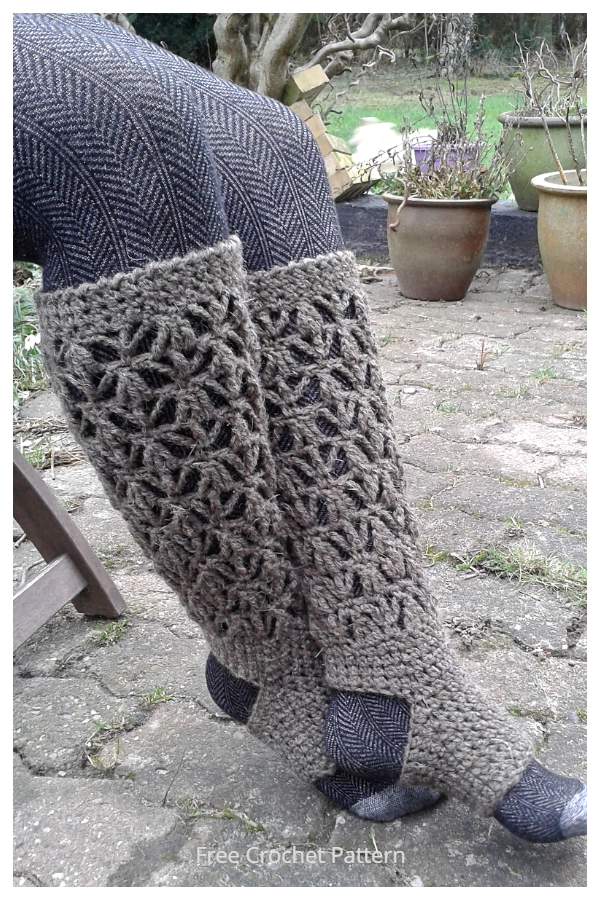 Lake Town Yoga Socks Free Crochet Patterns