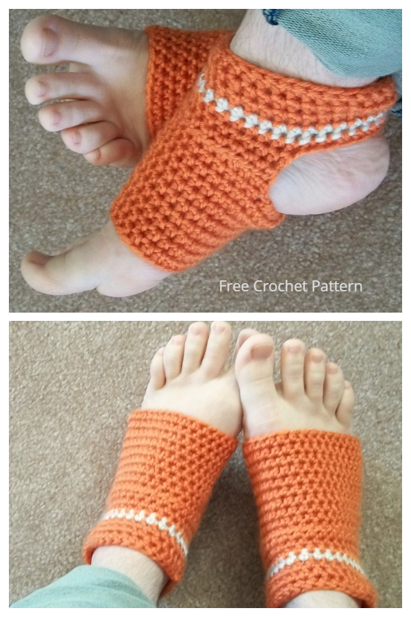 Zen Yoga Socks Free Crochet Patterns
