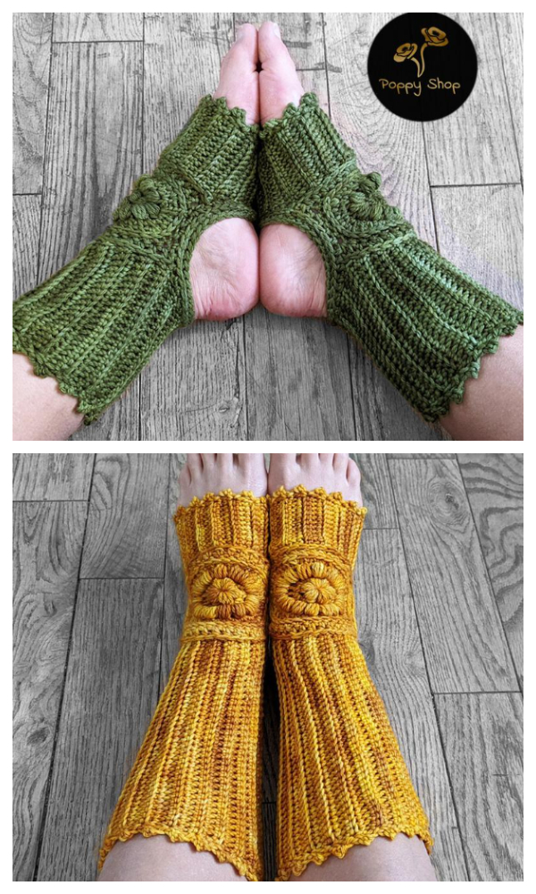 Prana Yoga Socks Crochet Patterns