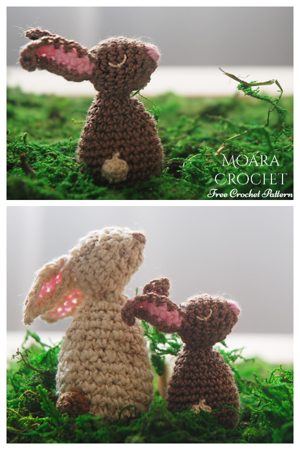 Amigurumi Easter Bunny Free Crochet Patterns